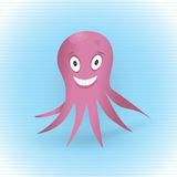 Pink Octopus Stock Images