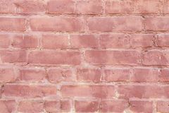 Blue old brick wall with paint, background texture retro royalty free stock images