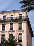 Pink old building Royalty Free Stock Photography