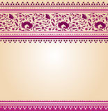 Pink oriental floral background Royalty Free Stock Images
