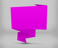 Pink Origami Background Royalty Free Stock Photos