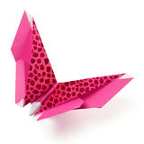 Origami butterfly Royalty Free Stock Images