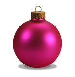 Pink ornament with clipping path Royalty Free Stock Images