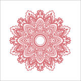 Pink ornament Royalty Free Stock Photos