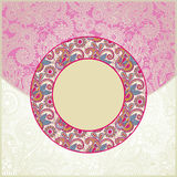 Pink ornamental pattern Stock Photography