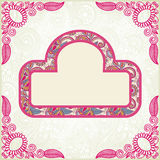 Pink ornamental pattern Royalty Free Stock Photo