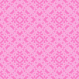 Pink Ornamental Seamless Line Pattern Royalty Free Stock Image