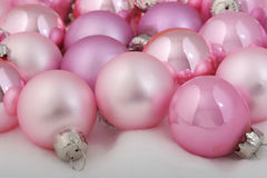 Pink ornaments Royalty Free Stock Image