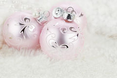 Pink Ornaments Royalty Free Stock Photo
