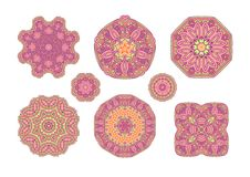 Pink ornate background Royalty Free Stock Photos