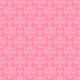 Pink Ornate Paper. Pink and White Ornate Background Stock Image