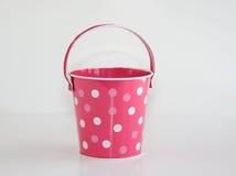 Pink Pail Stock Image