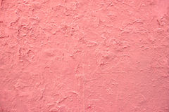 Pink paint wall Stock Images