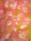 Pink painted abstract Stock Photo