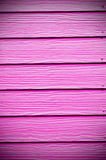 Pink Painted Wooden Wall Stock Photos
