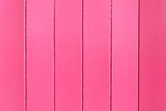 Pink painted wooden wall. Useful as background Stock Photography
