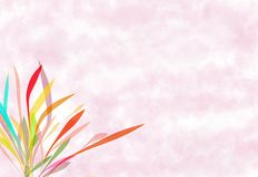 Pink painting soft background Royalty Free Stock Photo