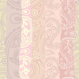 Pink paisley background Royalty Free Stock Photography