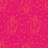 Pink paisley Stock Photography