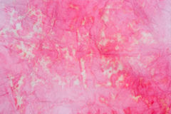 Pink paitnted paper tissue background Stock Photo