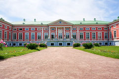 Pink Palace in the summer (Kuskovo Estate near Moscow) Stock Photos