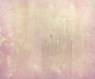 Pink pale watercolor wash on handmade paper Stock Images