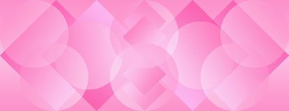 Pink Panoramic Background Wallpaper Stock Photo