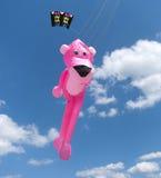 Pink panther kite Royalty Free Stock Images