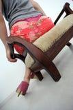 Pink panties Stock Photo