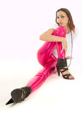 Pink pants Royalty Free Stock Photography