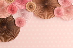 Pink paper background Royalty Free Stock Photography