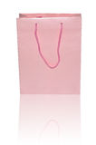 Pink paper Bag Stock Images