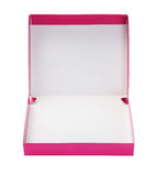 Pink Paper Box Stock Image