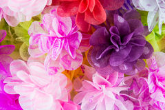 Pink Paper Flowers texture Royalty Free Stock Photos