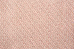 Pink paper napkin Stock Images