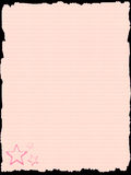 Pink paper template Stock Photo