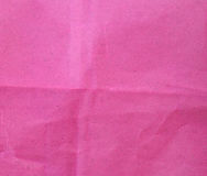 Pink paper texture for background usage. Stock Images