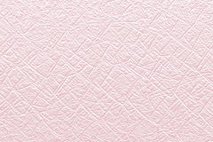 Pink paper texture with net pattern Stock Photography