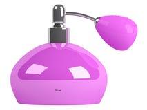 Pink parfume bottle Royalty Free Stock Image