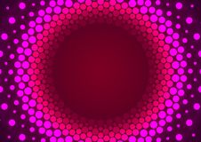 Pink Particles Orbit Royalty Free Stock Photo