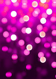 Pink party. Disco background with glowing lights Royalty Free Stock Photos