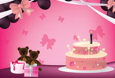 Pink party Royalty Free Stock Images