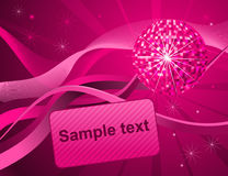 Pink Party Background Stock Photos