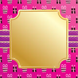 Pink party wrapping Royalty Free Stock Image