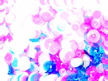 Pink pastel bubble abstract background. Pink pastel cycle bubble color abstract background Royalty Free Stock Photo