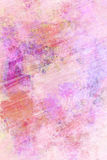 Pink pastel colored grunge background Royalty Free Stock Images