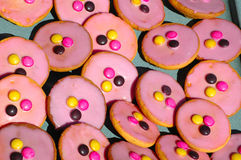 Pink pastry Royalty Free Stock Photography