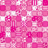 Pink patchwork art background Royalty Free Stock Photo