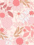 Pink pattern Royalty Free Stock Photography