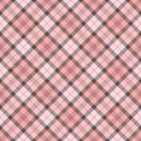 Pink pattern. Abstract decorative pink check texture. Seamless pattern. Illustration Stock Image